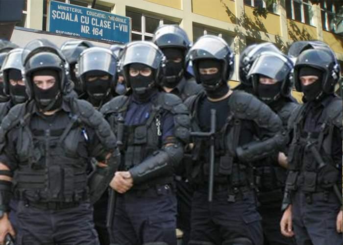 Dezbinare! Jandarmii acceptaţi în clasa I fac mişto de colegii care au intrat la clasa pregătitoare