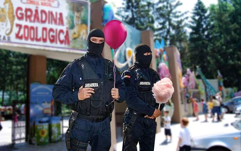 Jandarmii se laudă că au găsit un interlop în Băneasa care are şi mai multe animale