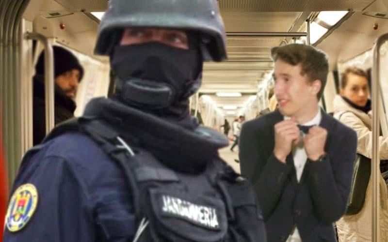 Jandarmii vor asigura paza la metrou! Dacă ne bat la suprafaţă, vede toată lumea
