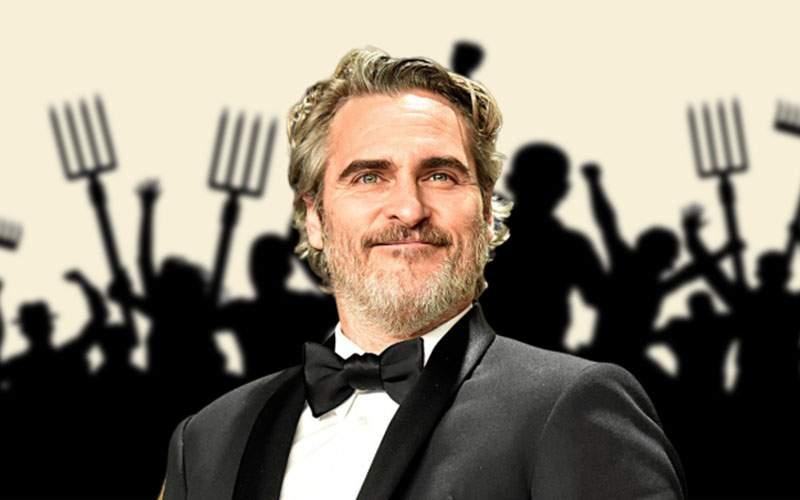 Scandal la Mediaş după ce Joaquin Phoenix a ţinut un discurs radical împotriva canibalismului