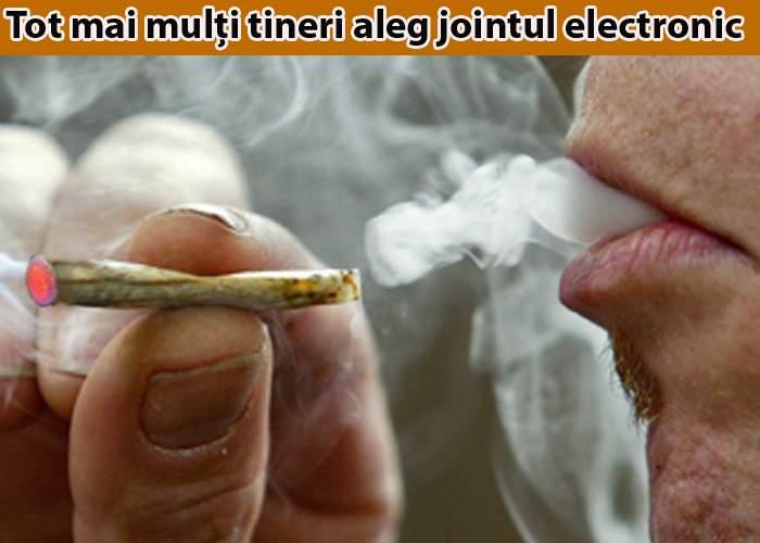 După ţigara electronică, pe piaţă a apărut şi jointul electronic