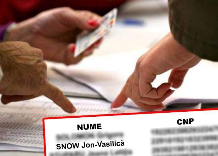 Acum e sigur mort! Numele lui Jon Snow apare pe o listă electorală în Teleorman
