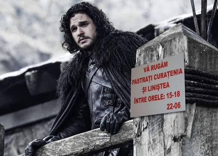 Atenţie, spoiler! Jon Snow şi prietenii lui s-au dus dincolo de Zid să vadă cine dracului dă cu bormaşina