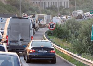 Mai mulţi jucători de la Rapid, blocaţi pe Autostrada Soarelui. N-au avut bani pentru taxa de pod