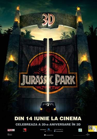 Jurassic Park 3D – De data asta, n-ai scăpare!