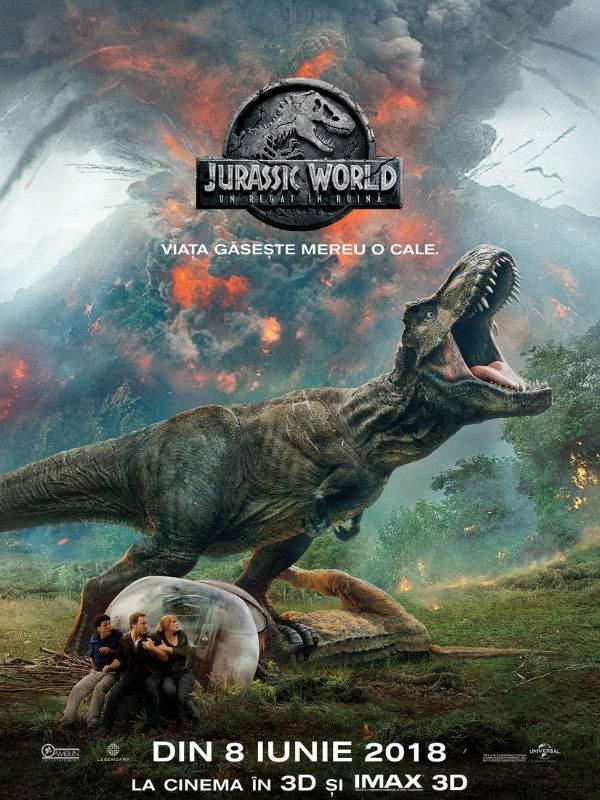 Jurassic World: Fallen Kingdom 3D (2018) – Supraprețuirea celui mai puternic