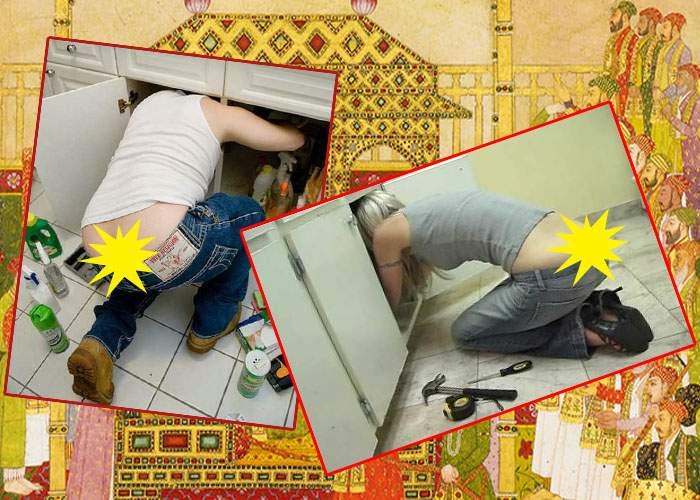 A aparut Kama Sutra pentru instalatori: 174 de poziţii din care ţi se vede crăpătura curului