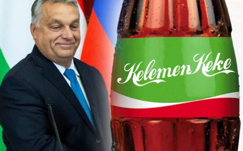 Ungaria boicotează Coca-Cola şi o va înlocui cu produsul local Kelemen-Keke