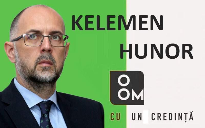 """Kelemen Hunor i-a furat sloganul electoral lui Mircea Diaconu: """"O om!"""""""