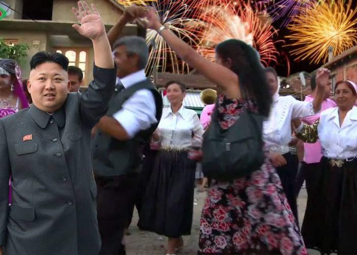 Kim Jong Un e atât de bun la rachete, că a fost invitat să se ocupe de artificii la o nuntă de ţigani