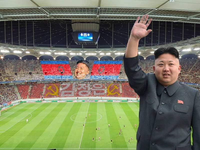 Suporterii Stelei au fost invitați în Coreea de Nord, ca să participe la parada pentru Kim Jong-un