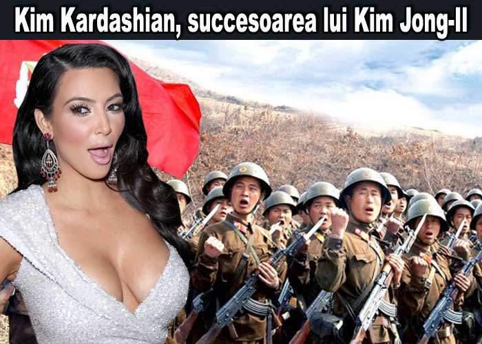 Kim Kardashian, chemată să preia puterea în Coreea de Nord