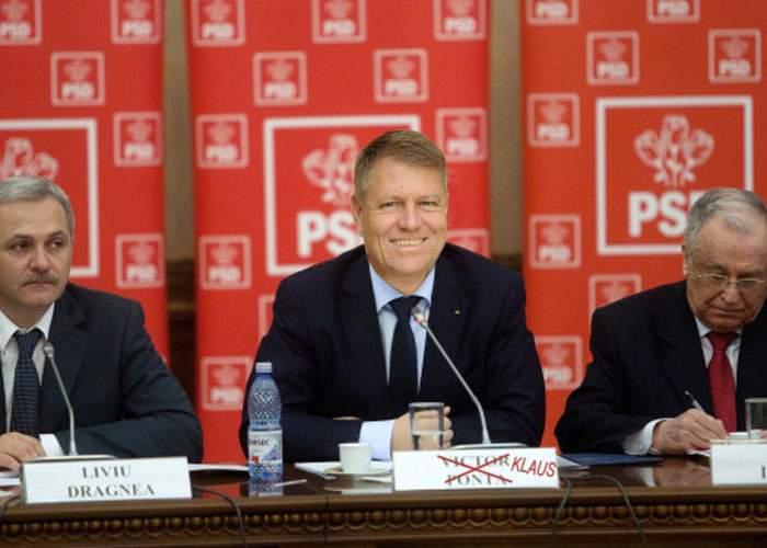 Încă un eşec pentru PSD! Alegerile pentru şefia partidului au fost câştigate tot de Iohannis