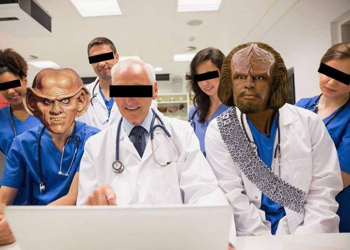Clinicile MedLife au aparatură atât de avansată, că vin studenţi klingonieni şi ferengi să facă practică