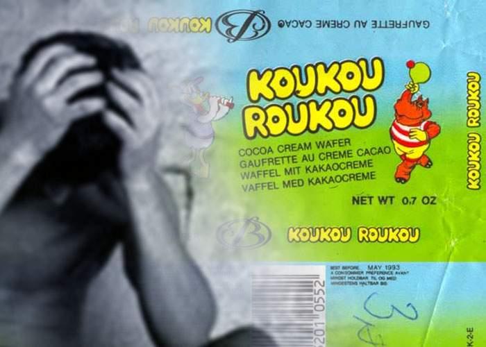 Epidemie de nostalgie în Bucureşti, după ce un bărbat şi-a amintit de napolitanele Koukou Roukou