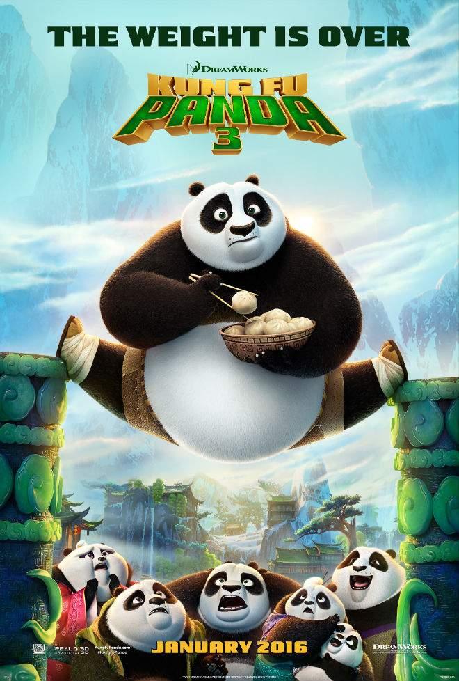 Kung Fu Panda 3 (2016) – Marțial de marțipan