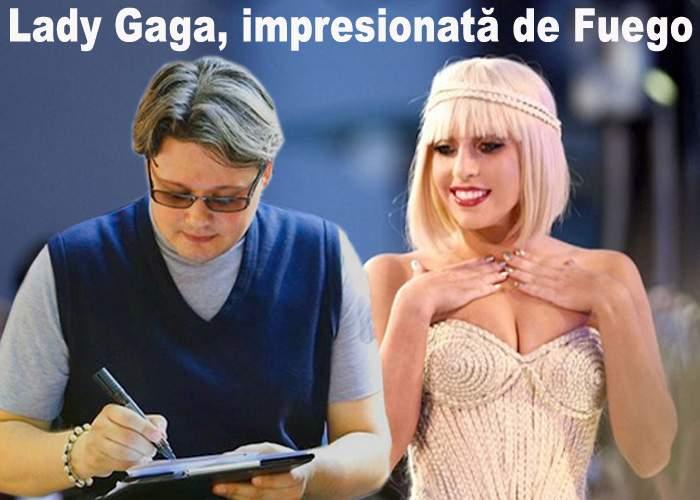 """Lady Gaga, în extaz: """"Am obţinut autograful lui Fuego!"""""""