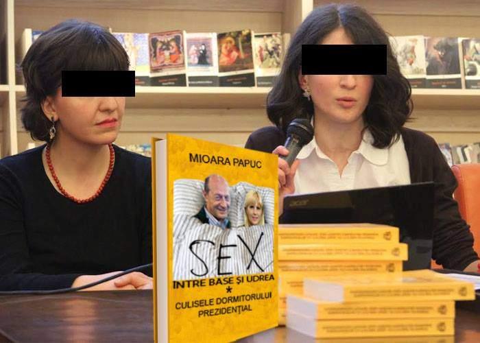 """Cartea Adrianei Săftoiu, pusă în umbră de cea a cameristei de la Cotroceni """"Sex între Băse și Udrea"""""""