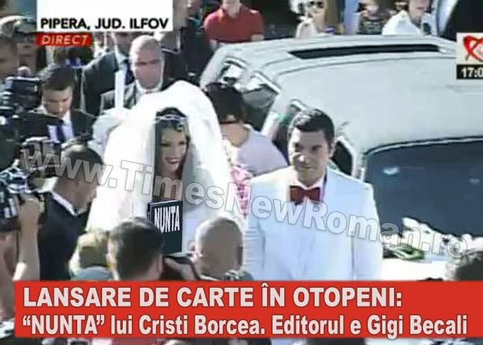 """Lansare de carte în comuna Otopeni: """"Nunta"""" lui Cristi Borcea"""