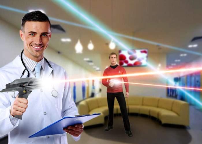 Studiu! Într-o clinică medicală privată sunt mai multe lasere decât pe nava Enterprise