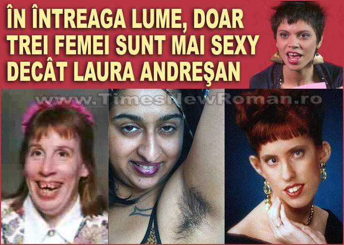 Laura Andreşan, pe locul patru în topul celor mai anti-sexy femei