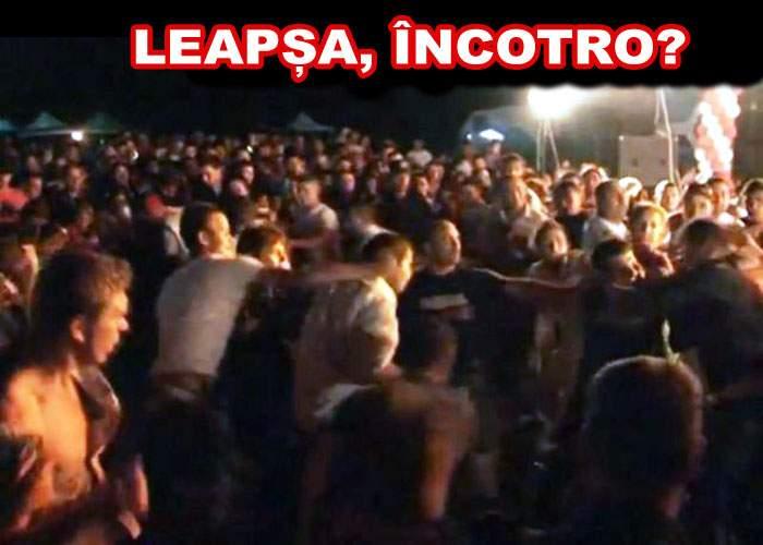 Un joc de leapșa a degenerat în bătaie la un concert de manele din Buzău