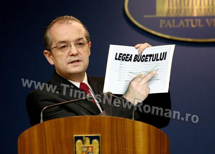 """Legea bugetului: """"Un buget scufundat în rahat lichid este împins de jos în sus cu o forţă egală…"""""""
