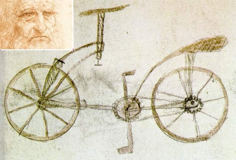 Multe invenţii ale lui Leonardo da Vinci au fost pierdute, că nevastă-sa le punea bine