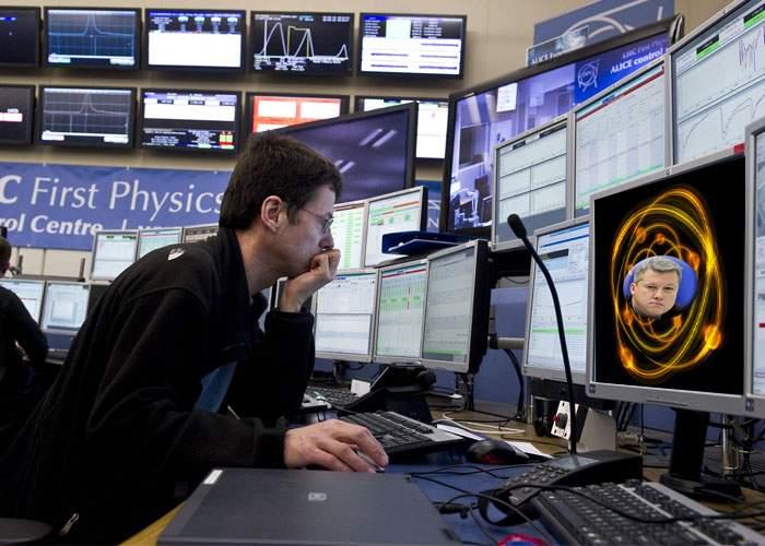 Savanţii de la CERN au găsit ceva mai mic decât bosonul lui Higgs: procentul lui Predoiu