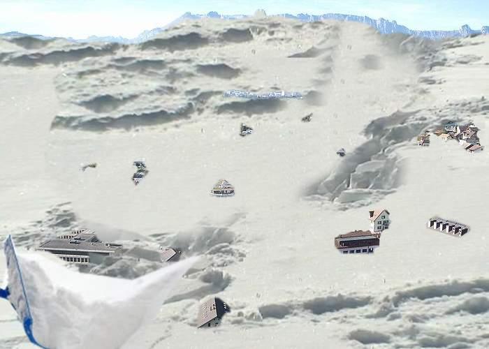 Liechtensteinul, sub nămeţi după ce un austriac şi-a aruncat zăpada din curte peste graniţă