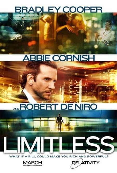 Limitless – Iau pastile, deci (mă fac că) gândesc