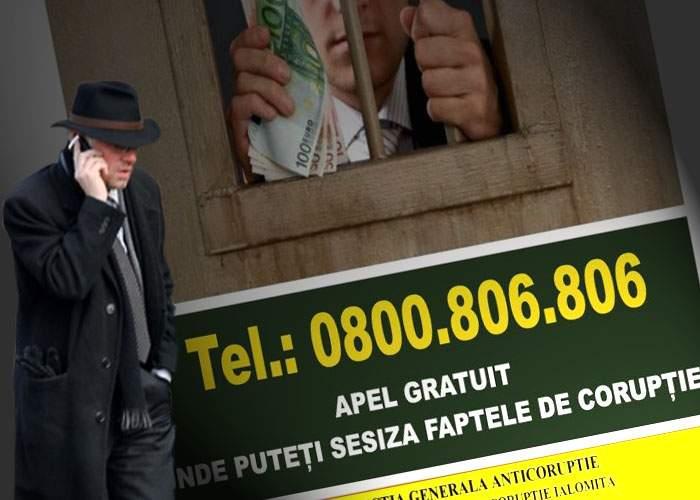 Probleme cu linia telefonică anticorupţie: nu poţi vorbi cu un operator dacă nu dai şpagă