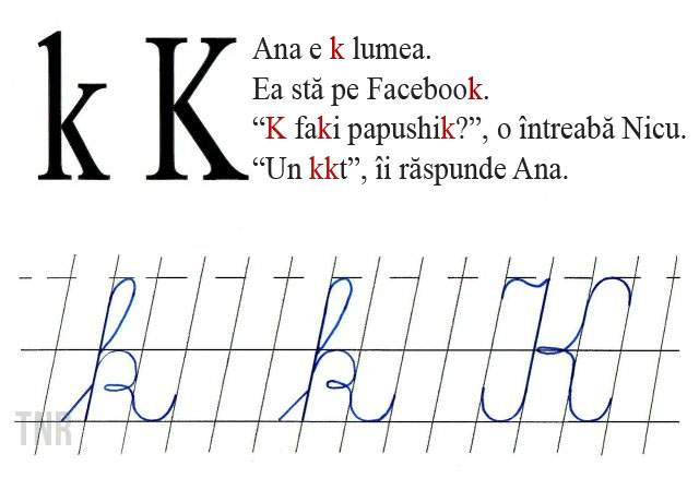 Veşti bune în prag de an şcolar: Litera K va fi scoasă din abecedare pentru a preveni abuzurile