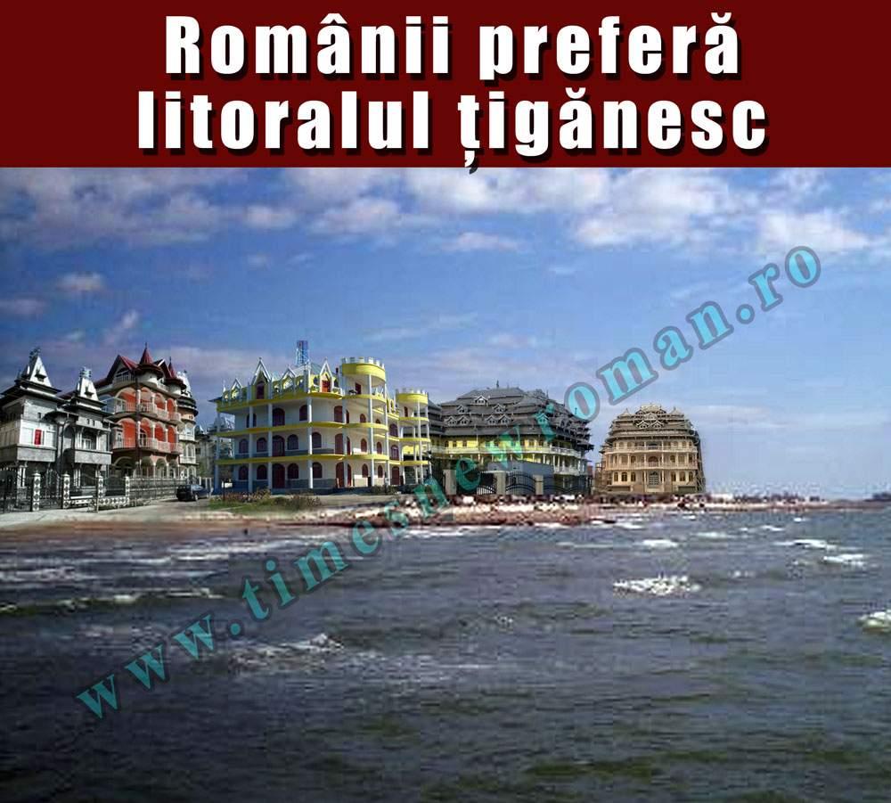 Tot mai mulţi români îşi fac vacanţele pe litoralul ţigănesc