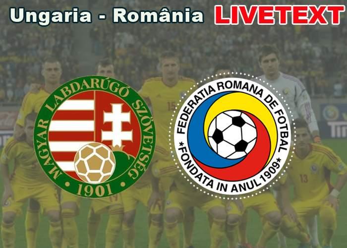 Livetext! Ungaria-România, în direct din redacţia TNR