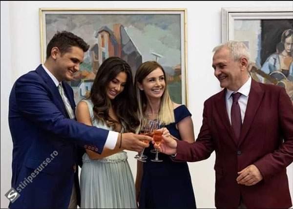 Am scăpat de Liviu Dragnea! La nunta de la Snagov a anunţat că cedează conducerea ţării fiului său, Valentin