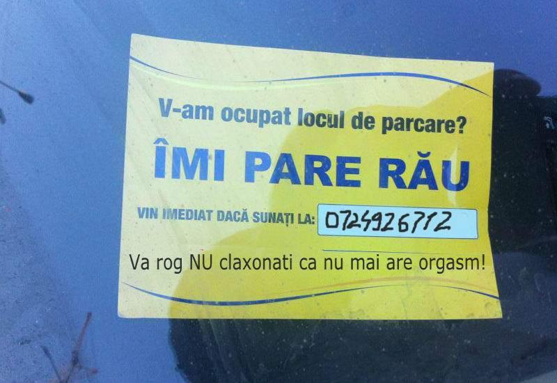Un bucureştean a divorţat pentru că amantul soţiei îi tot ocupa locul de parcare