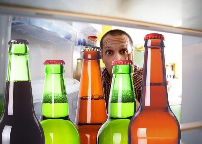 Un bărbat căsătorit şi-a cumpărat loc pentru bere în frigider de pe Mercador.ro