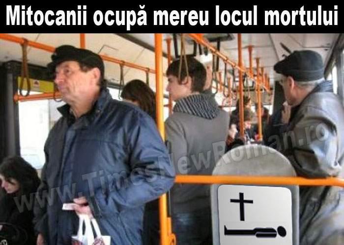 Lipsă de educație: românii ocupă mereu locul mortului în tramvai