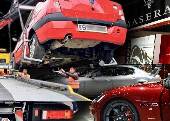 Noul Logan, ridicat de la salonul auto Geneva, pentru că era parcat pe avarii în standul Maserati