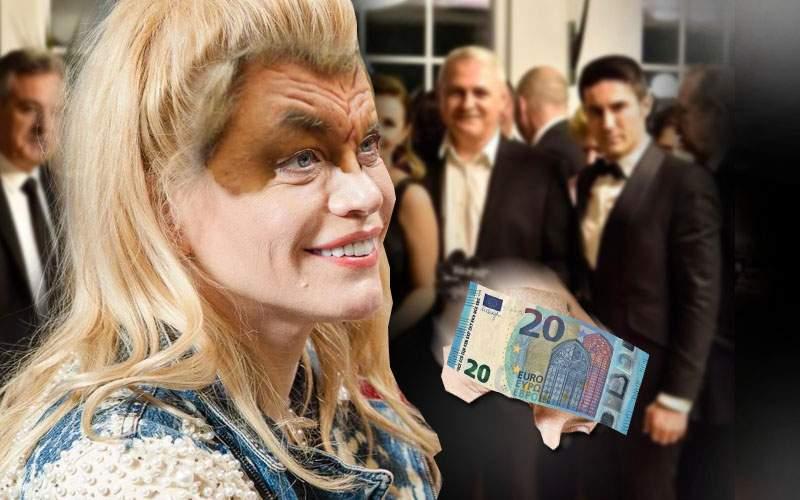 Loredana, moment jenant la nunta Olguţei: i-au căzut banii de pe frunte cu tot cu machiaj