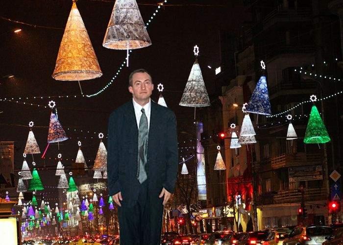 Primăria a ales ghinionistul de la care va fura curent pentru luminiţele de Crăciun în acest an