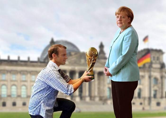 Previzibil! Francezii au predat deja trofeul Cupei Mondiale nemților