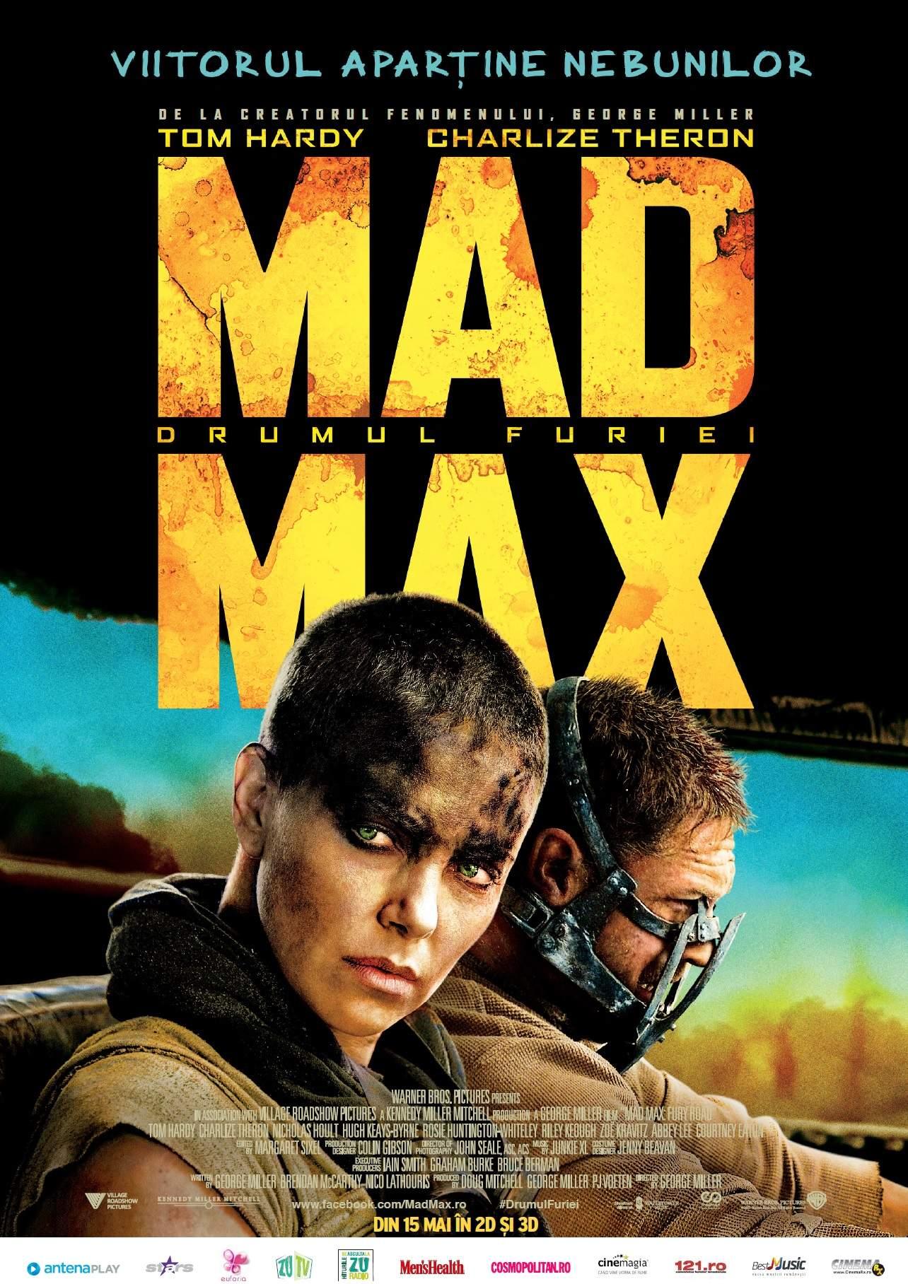 Mad Max: Fury Road (2015) – Cel mai iubit dintre distopieni