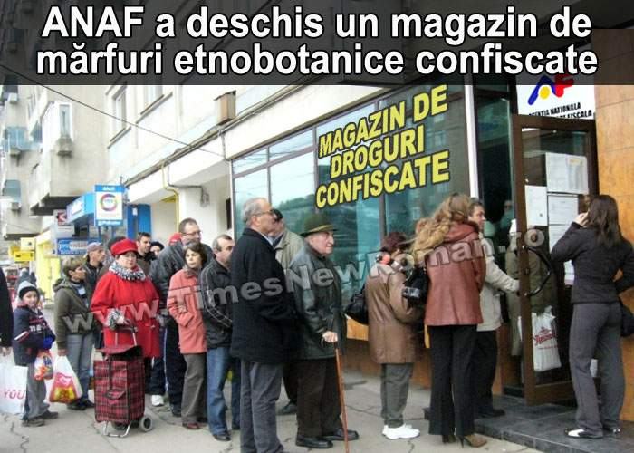 Bucureștenii s-au îmbulzit la deschiderea primului magazin de etnobotanice confiscate