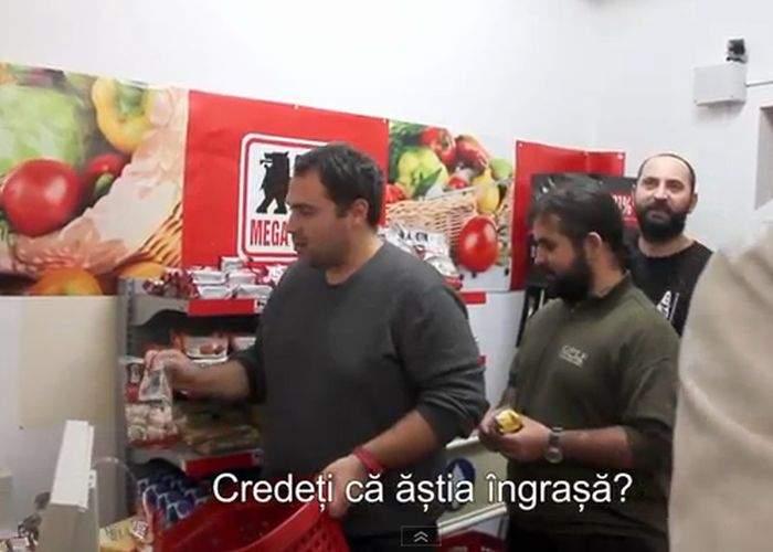 VIDEO! S-a mers prea departe! În redacţia TNR s-a deschis un magazin Mega Image