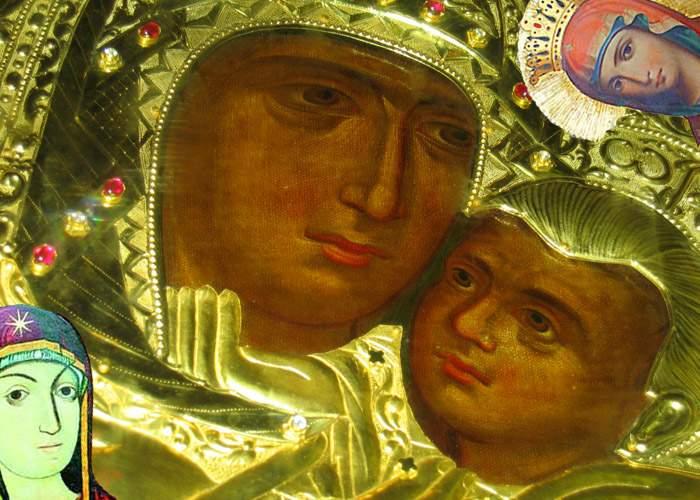 Unei femei din Botoşani i-a apărut chipul Maicii Domnului într-o icoană!