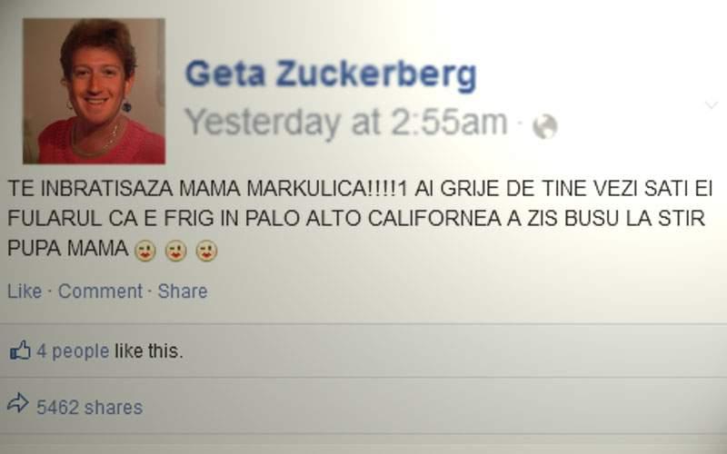 Zuckerberg a anunțat că închide Facebook-ul, că și-a făcut mama lui cont acolo