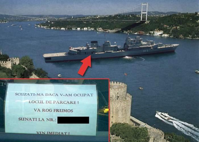România, avertisment dur la ONU după ce a lăsat fregata Mărășești cu avariile pornite în Bosfor