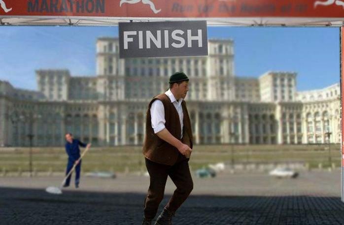 """Un ardelean a terminat azi maratonul București! """"No, am câștigat?"""" a fost prima lui întrebare"""